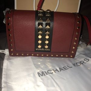MK LEATHER JETSET BAG LIMITED EDITION ♥️🖤